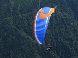 Paraglidingphoto